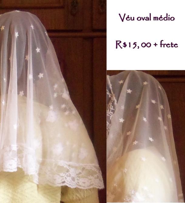 véu transparente