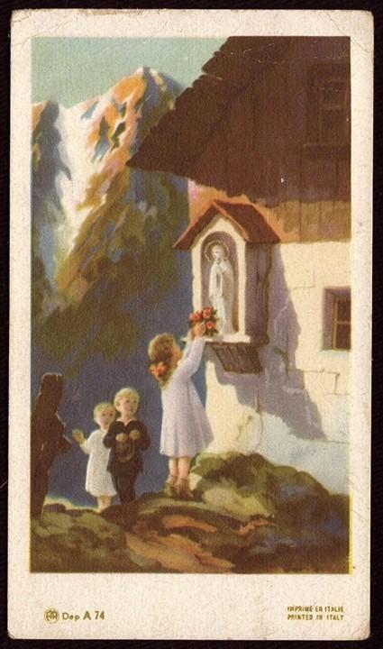 a formação da moça católica 05 de maio.
