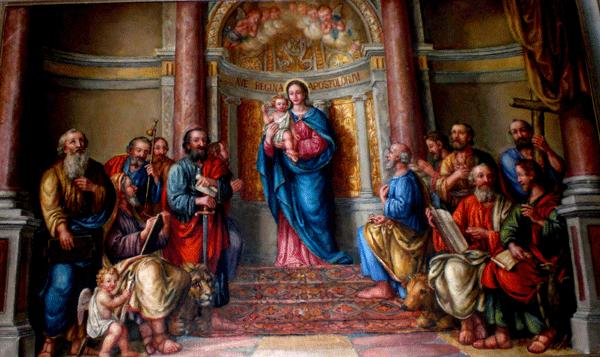 dia 28 Rainha dos santos